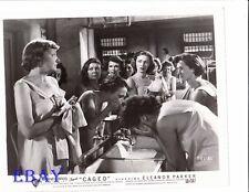 Eleanor Parker women's prison VINTAGE Photo Caged