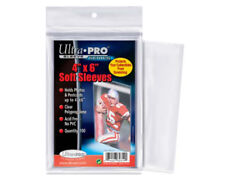 ULTRA PRO 4'x 6' SOFT SLEEVES 100 PACK