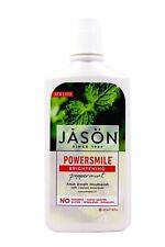 NEW Jason POWERSMILE Brightening Peppermint Fresh Breath Mouthwash 16 fl oz