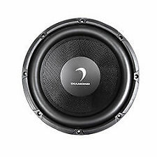 """Diamond Audio D122 400 Watts 12"""" Inches Dual 2 Ohm D Series Car Stereo Subwoofer"""