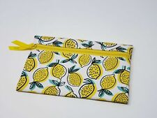 Ipsy Lemon Clutch Makeup Cosmetic Travel Bag (Bag Only)