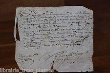 ✒ LS Henry de BOURBON MONTPENSIER Bretagne Château Bretesche à Boysjollan 1590
