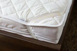 Merino Wool Mattress Topper Pad SINGLE DOUBLE KING SIZE Underblanket Bed Sheet
