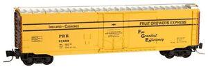 NIB Z MTL #50700501 50' Plug Door Boxcar Pennsylvania #92869