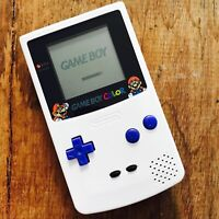 Nintendo GameBoy Color - Refurbished Colour Game Boy Handheld GBC Mario LOOK