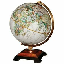 Geographic Replogle Bingham 12 in. Tabletop Diecast Globe w/ Classic Wood Base