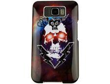 Hard Plastic Phone Design Cover Lightning Skull For T-Mobile HTC HD2