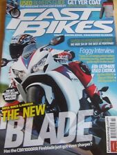 FAST BIKES MAGAZINE FEB 2012 WINTER JACKETS REVIEWED FOGGY INTERVIEW USED EXOTIC