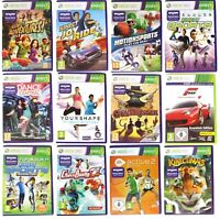 Xbox 360 Kinect Games - Multi Listing - Kinect Sports Adventures Dance Central..