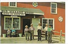 Old Village Store BIRD IN HAND AMISH Children of Lancaster County PA Postcard