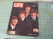 Life magazine August 28, 1964 COMPLETE BEATLES Paul Hornung Green Bay Packers