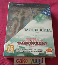 PACK TALES OF XILLIA + TALES OF XILLIA 2 SONY PS3 DAY ONE EDITION 100%FRANCAISE