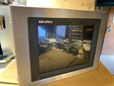 "Advantech FPM-3120TV 12.1 "" Flat Panel Monitor Touch Hmi Interface Operator"