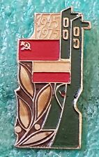 POLAND,CCCP FLAG COMMUNISTIC BADGE 1945-1975 OLD PIN BADGE