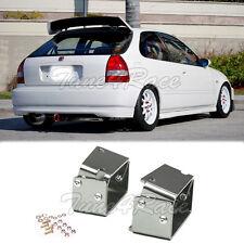 For 96-00 Honda Civic Alex Tilt Brackets EK9 3DR Type R Spoiler Fully Adjustable