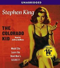 THE COLORADO KID unabridged audio book on CD by STEPHEN KING