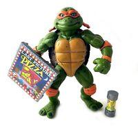 Movie Star Mike Vintage TMNT Ninja Turtles Action Figure 1992 90s Michelangelo