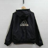 Vintage Adidas Full Zip Insulated Jacket Size Large Black 90s