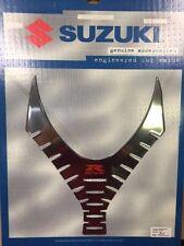 2007 - 08 SUZUKI GSX-R 1000 WING TANK PAD - LIQUID CHROME
