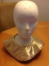 Adult Egyptian Gold Collar Nile Cleopatra Queen Costume Theater Production New