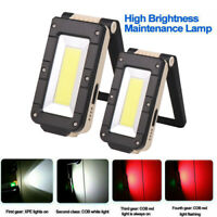 Flashlight Torch USB Rechargeable LED Work Light Magnetic Outdoor Lamp Lights