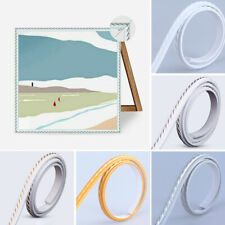 Flexible Bendable Ribbon Rope Panel Moulding Mirror Frame Trim Home Supplies Uk