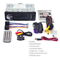 """4.1"""" HD Car MP5 Player Bluetooth/FM/AUX/USB Charger Hands-free+Rear View Camera"""