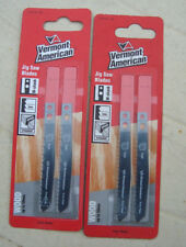 Vermont American 2 packs Jig Saw Blades VMA111C (4 blades) MAKITA for Wood