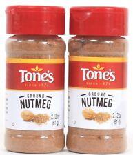 2 Tones Ground Nutmeg Quality Freshness Value 2.20 oz Best By 8-20-22