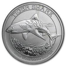 2016 Australia 1/2 oz Silver Tiger Shark (Abrasions/Damaged) - SKU#98205