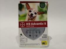K9 Advantix Ii Dog Flea And Tick Treatment For Small Dogs 4-10 lbs, 6 Doses - Ob