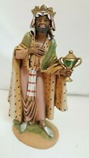 "Fontanini Nativity 12.5"" Figure Roman Wise Man King 1980 Italy Simonetti"