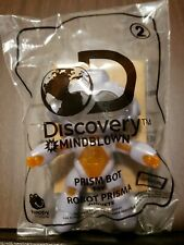 NEW MCDONALD'S HAPPY MEAL TOY, 2019 DISCOVERY MINDBLOWN, #2 PRISM BOT
