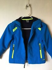 Champion C9 VentureDry Hooded Jacket - Blue - S (6-7) - Zip Front Pockets