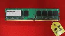 Desktop Buffalo 1GB RAM PC2-6400U-555 1Rx8 DDR2 SDRAM