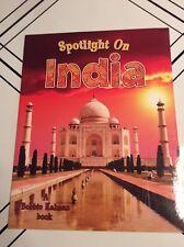 Spotlight on India by Robin Johnson English Paperback Book Educational Free Ship
