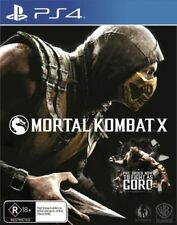 Mortal Kombat X  PlayStation 4 PS4 PAL AU Version FREE POSTAGE