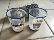 "Modelo Especial ""Dia De Los Muertos"" Reusable Beer Cups. Set Of 10. 4 Inches."