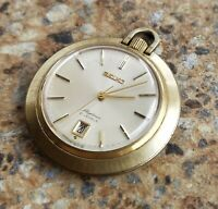 Vintage Seiko Skyliner 21 Jewels JDM  6102 0010 October 1968 Pocket Watch ASGP