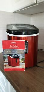 Cooks Professional Electric Ice Cube Maker Automatic Machine Fast 13kg Capacity