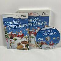 We Wish You a Merry Christmas (Nintendo Wii, 2009) Complete with Manual Tested