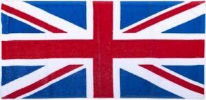 Union Jack Flag Cotton Bar Towel 500mm x 225mm (pp)