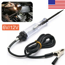 Car Voltage Circuit Tester For 6V/12V DC System Probe Continuity Auto Test Light