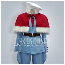 Axis Power Hetalia Finland Cosplay Costume All Size With Red Cloak Halloween Cos