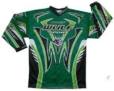 Wulfsport pro fx green race shirt size XXL motocross motorbike MX leisure