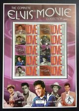 The Complete ELVIS  PRESLEY Movie Collection 1967-69. Collectable Stamp Sheet.