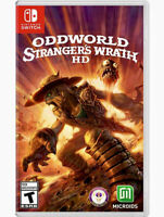 Oddworld: Stranger's Wrath for Nintendo Switch [New Video Game] Factory Sealed !