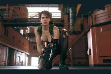 """Metal Gear Solid 5 The Phantom Pain Quiet Silk Wall huge Poster 36x24"""" MGS3.1"""