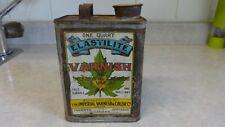 vintage oil tin canadian imperial varnish & color co toronto thos.davidson mfg