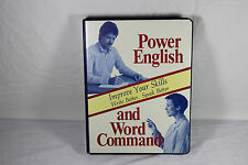 Power English & Word Command 4-Cassette Home Study Course by Learn, Inc.